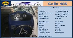 Galia 485 Cruiser for sale