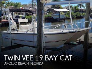 2007 Twin Vee 19 Bay Cat