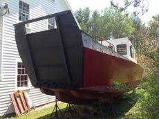 36' Ex USCG Fiberglass Landing Craft