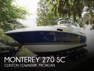 2005 Monterey 270 SC