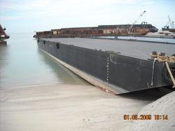Flat Top Dumb Barge