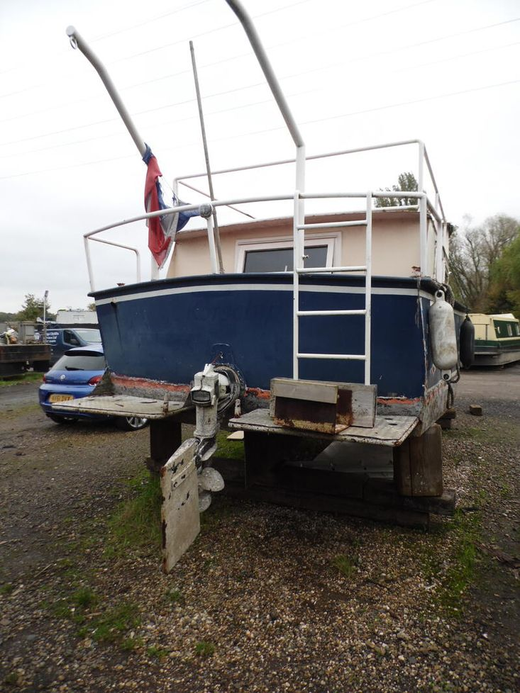 Dutch 35 Foot Steel Cruiser