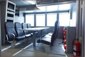 Main Passenger Deck Area