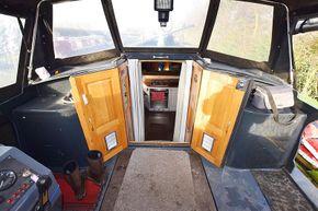 Rear deck forward