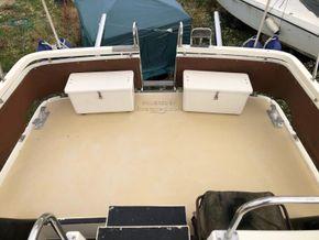 Birchwood Motor Yachts President 37 With Flybridge - Aft Deck
