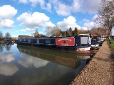 Windhover 62ft narrowboat