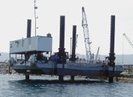 SELF PROPELLED JACK UP BARGE