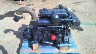 Perkins M90 Marine Diesel Engine Breaking For Spares