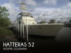 1985 Hatteras 52 Convertible
