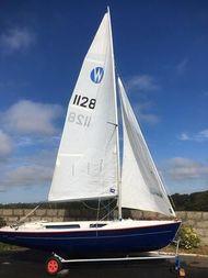 Anglo Marine Wanderer - Sail number 1128