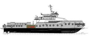 MOC Shipyards 38m Crew Security vessel