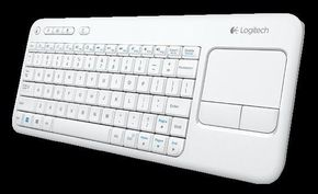 Keyboard with touc trackpad