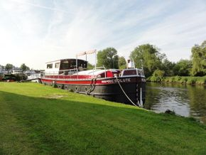 Residential mooring along the Norfolk Broads