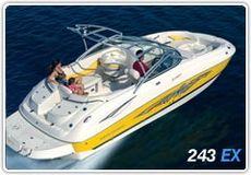 Monterey 243 EX Explorer Deck Boat