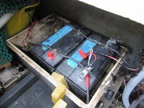 Princess 30DS   - Batteries