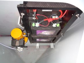 Bow Thruster and Batteries