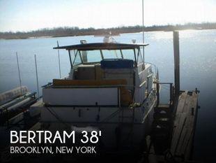 1972 Bertram 38 Double Cabin