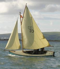 "TELA 16' 6"" Gaff Dayboat"