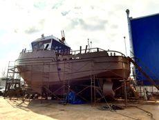 Twin Screw Multipurpose tugboat with crane 19TBP
