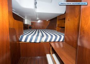Aft cabin - one of two