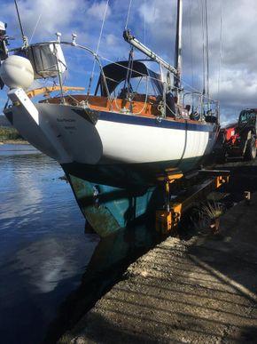 End of season coming ashore