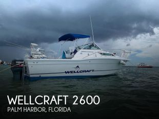 1995 Wellcraft 2600 Coastal