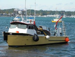 1973 35' Twin Screw Alum Dive Boat