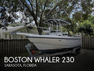1999 Boston Whaler 230 Outrage
