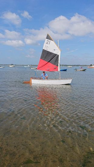 Sailing Dinghy Rowing Boat