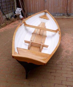GRP  16ft rowing skiff