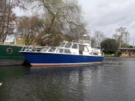 40ft modernised Dutch Liveaboard houseboat