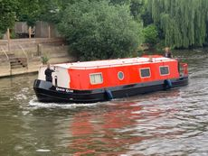 2016 40' x 12' Widebeam on Residential Mooring by Hampton Court