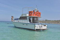 12.75m Motor Boat - Charter