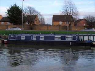 Kelly 45ft 1983 Lorenz brothers 4 berth traditional stern narrowboat