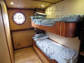 Wide Beam 60ft Cruiser Stern  - Cabin - Crew Quarters