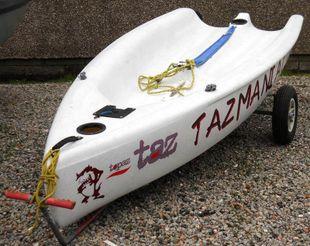 TOPPER TAZ 1631, inc 3 Main Sails