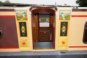 Starboard side hatch doors