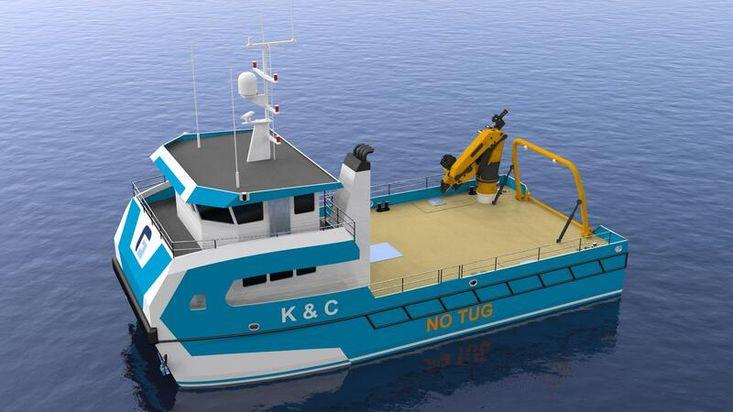 NEW BUILD - 17.5m Multi-Purpose Cat Workboat