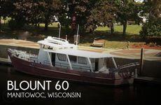 1967 Custom Built Blount 60 Converted Research Vessel