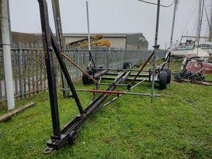 Yard Launching trailer
