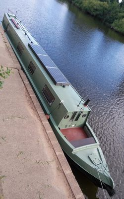 Marque 60 ft traditional narrowboat