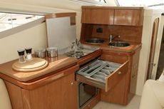 Sealine F34 Galley
