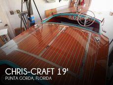1950 Chris-Craft Racing Runabout