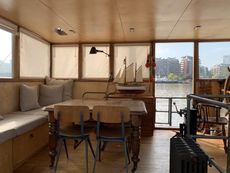 Houseboat Barge River Thames including Hermitage Mooring London