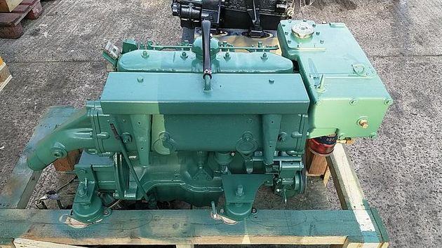 Volvo Penta MD21A 75hp Bobtail Marine Diesel Engine