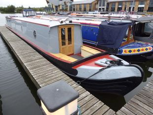 Brand New 58ft Tyler/Wilson Semi-Trad with Harper Coles Quality Fitout