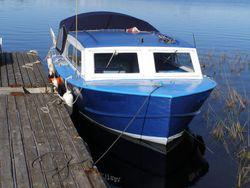 1956 26' x 10' x 3' Steel Inboard Cruiser - NEW PRICE!