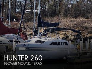 1999 Hunter 260