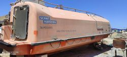 new unused lifeboat for sale.70 persons