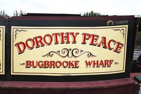 Signwriting - Dorothy Peace